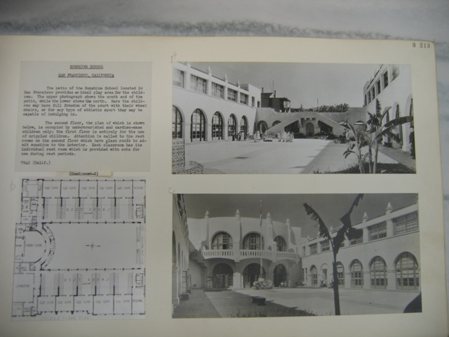 Sunshine School Archive Photos and Floorplan