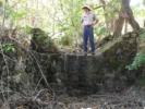 Ranger Tom Brackett Standing on a San Pablo Reservoir Check Dam