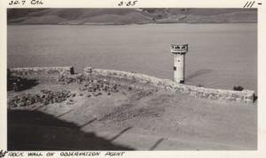 San Pablo Reservoir Observation Point Rock Wall