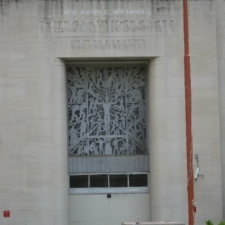 New Orleans Charity Hospital Entrance