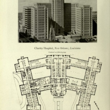 New Orleans Charity Hospital and Layout (1930s)