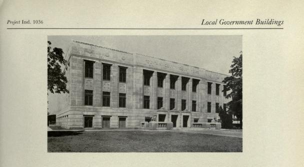 Covington, Indiana Courthouse