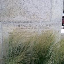Cornerstone, Udall Department of Interior Building - Washington DC