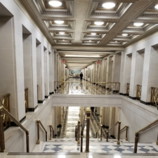 Grand staircase, Udall Department of Interior Building - Washington DC