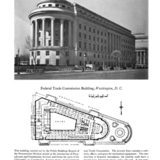 Floor plan,Federal Trade Commission Building- Washington DC