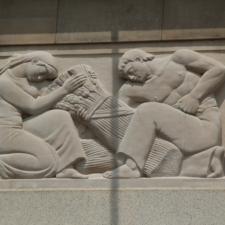 """Scaravaglione relief, """"Agriculture"""",Federal Trade Commission Building - Washington DC"""