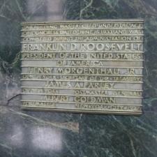 Madison Square Post Office Plaque