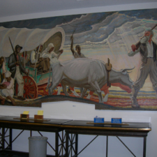 """Mural Panel - """"Episodes in the Life of John Brown"""""""