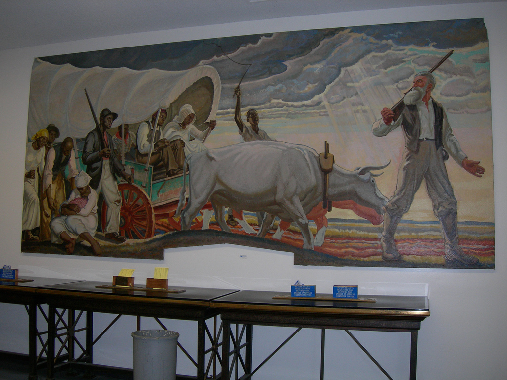 "Mural Panel - ""Episodes in the Life of John Brown"""