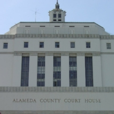 Alameda County Courthouse Close Up