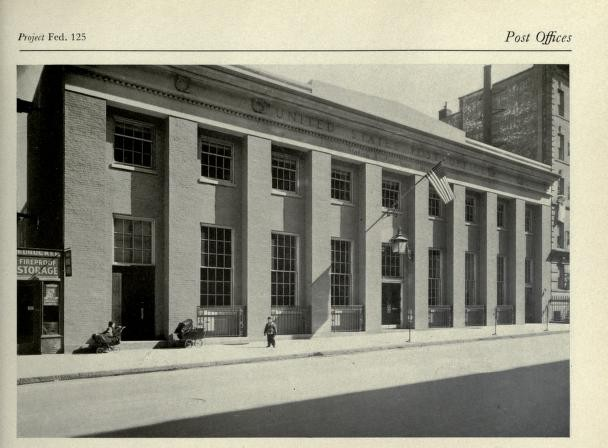 Mott Haven Station Post Office Bronx Ny Living New Deal