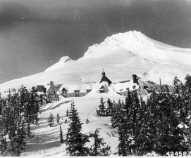 Mt. Hood and Timberline Lodge, 1943