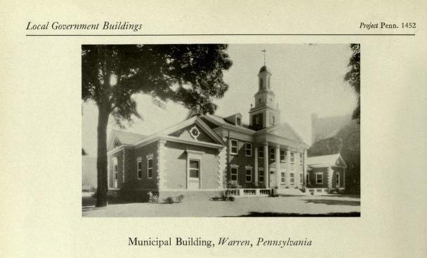 Warren, Pennsylvania Municipal Building