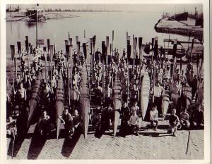 Crew teams Long Beach 1936
