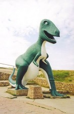 The park's Tyrannosaurus Rex