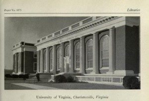 Alderman Library, University of Virginia