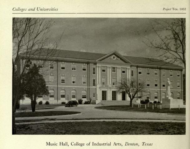 Texas Woman's University Music Hall (1930s)