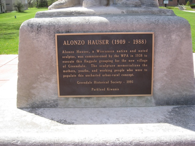 Hauser Sculpture Plaque