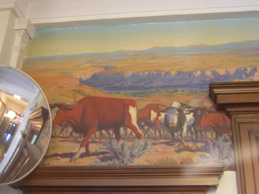 """Trailing Cattle"" (left side)"
