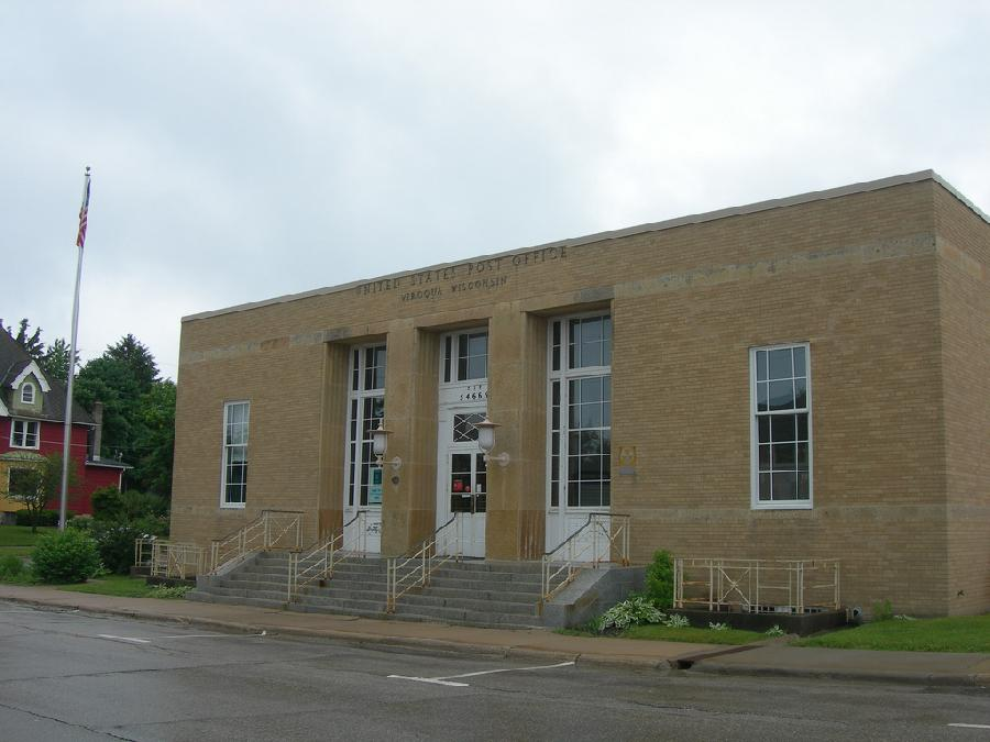 Viroqua, Wisconsin Post Office
