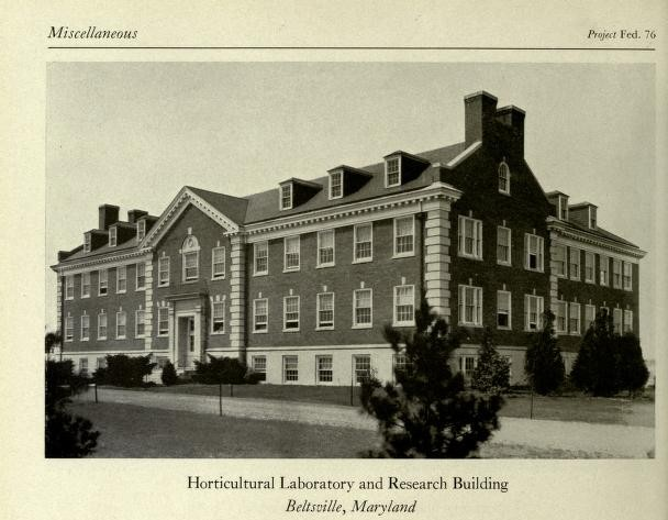 BARC Horticultural Laboratory and Research Building