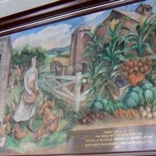 Gates Mural from former Post Office - Bethesda MD