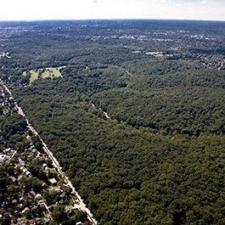 Aerial ofRock Creek Park - Washington DC