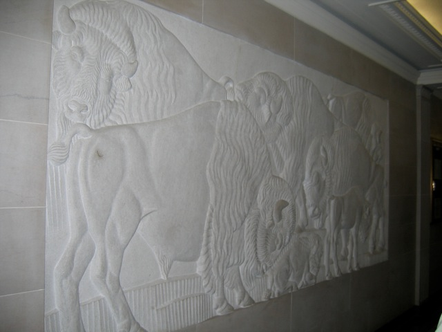 Department of the Interior Buffalo Relief