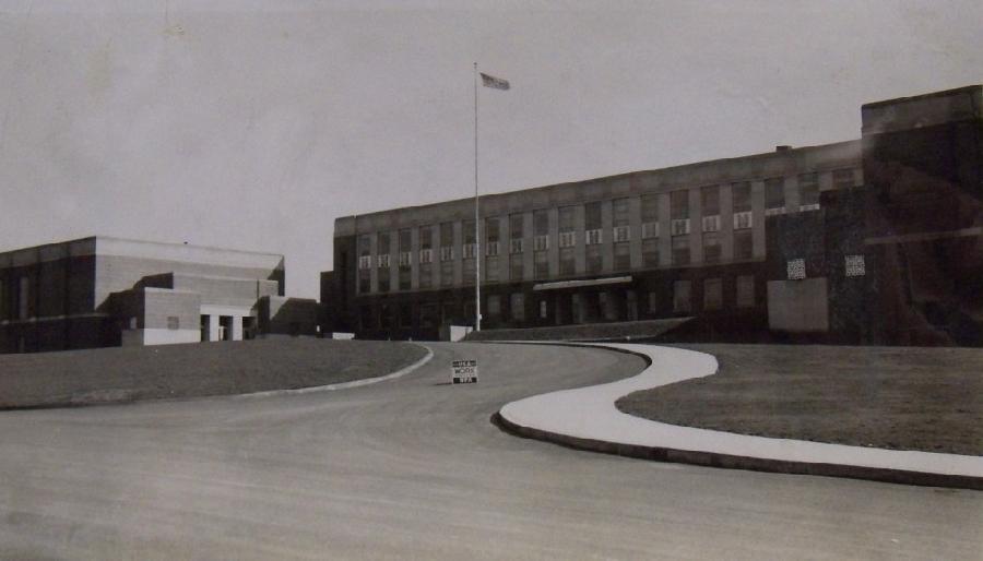 Fort Hill High School Main Entrance