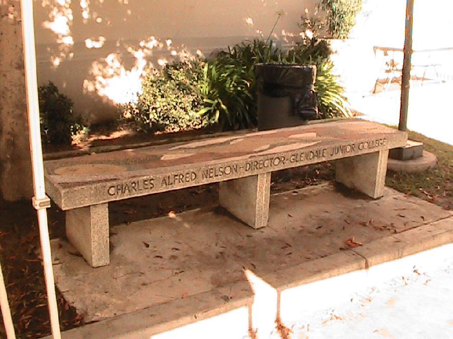 Glendale Community College Memorial Bench