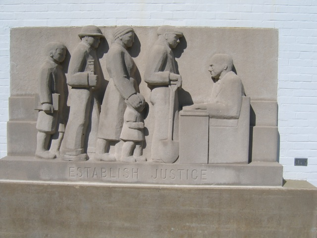 Greenbelt Community Center Bas Relief