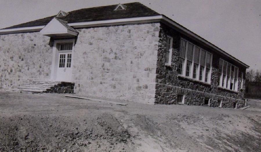 Completed Port Deposit School
