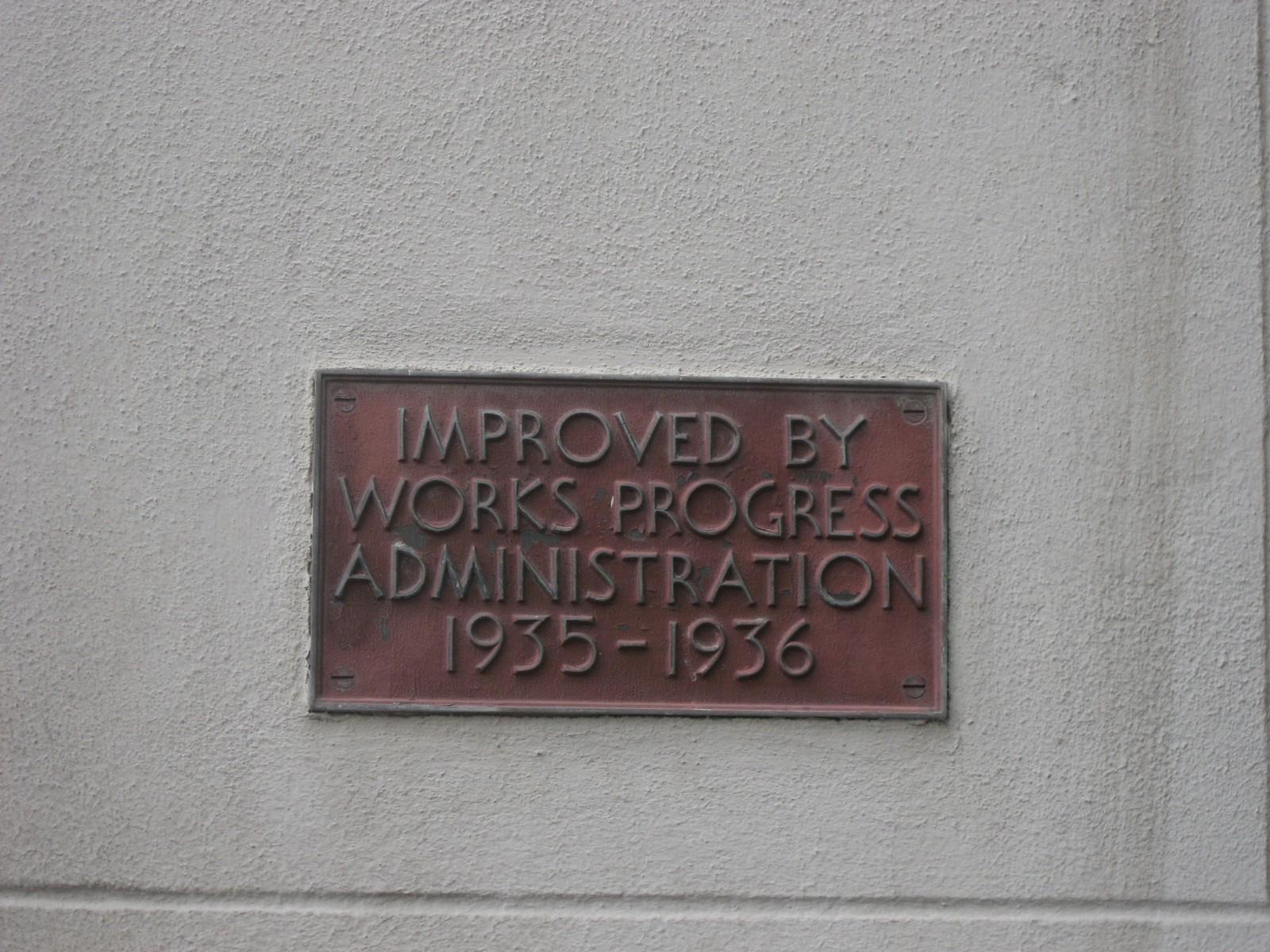 Louisiana State Museum WPA Plaque