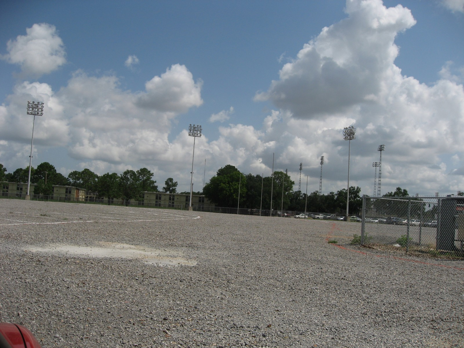 Old Alex Box Stadium Site, LSU
