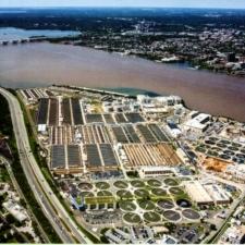 Modern aerial view of Blue Plains