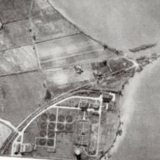 Aerial view of Blue Plains, ca. 1937