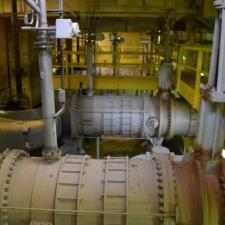 Subterranean, inner-workings of the PWA pump house