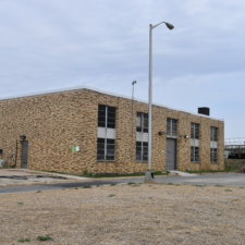 Blue Plains utility building, possible PWA-funded