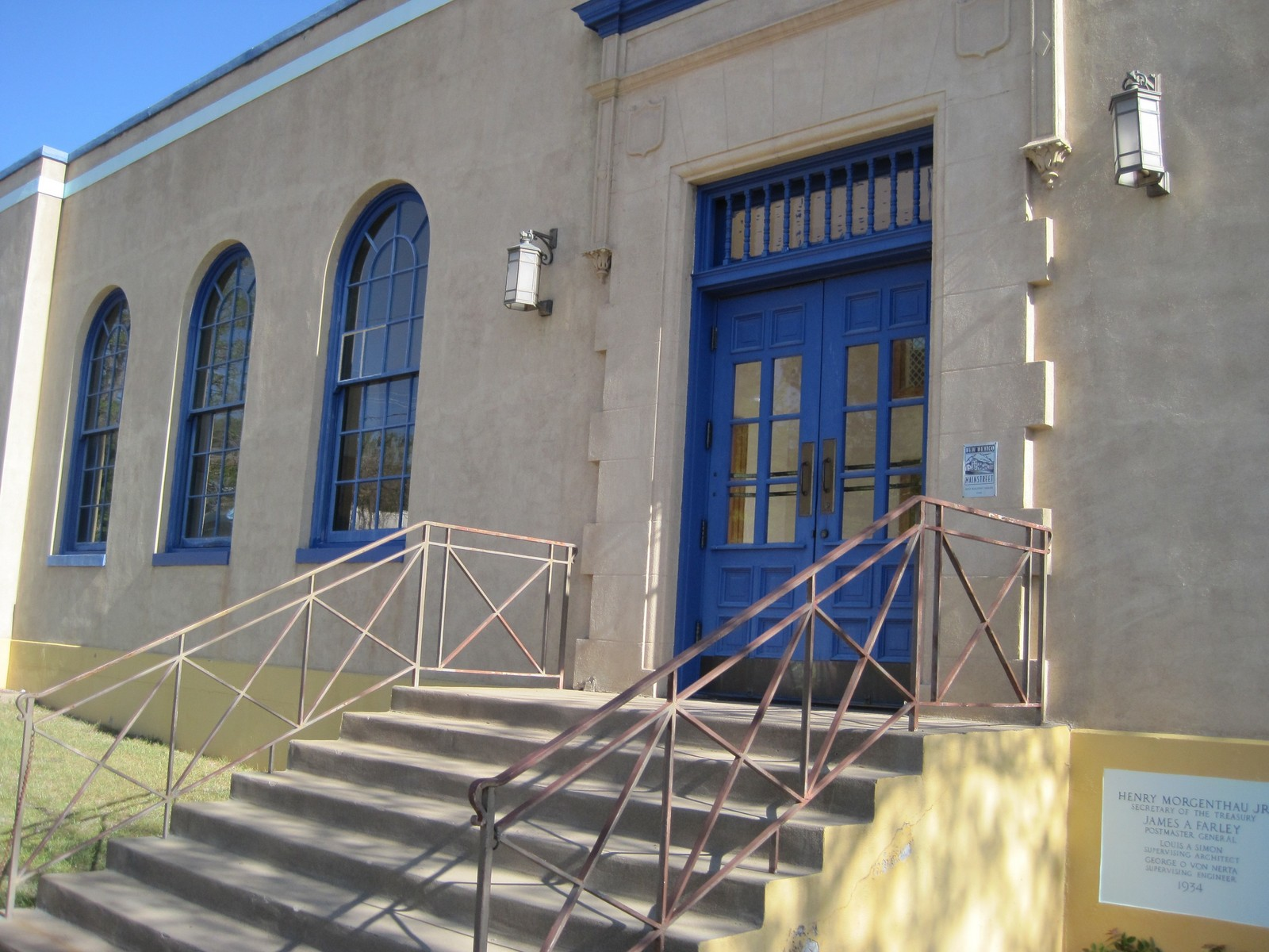 Silver City New Mexico Post Office