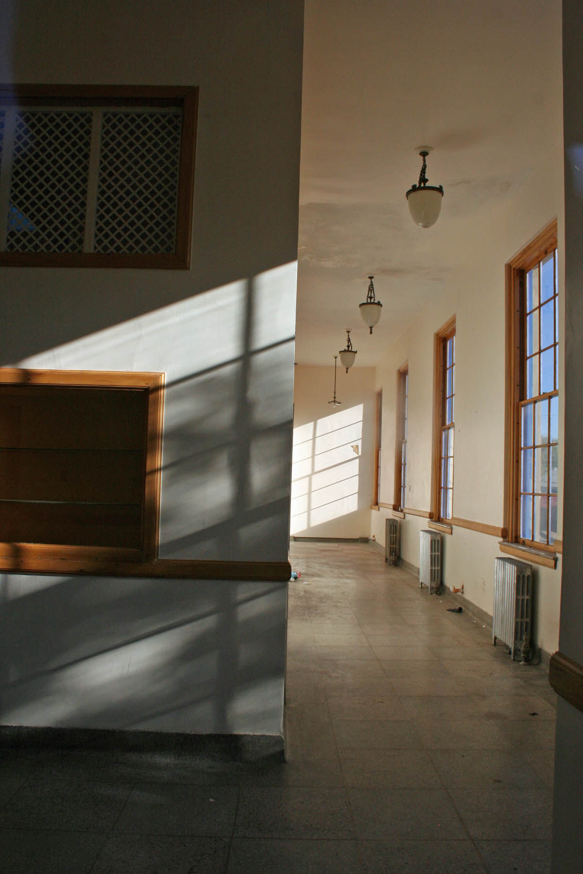 Old Silver City Post Office Interior