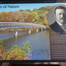 Panel at Theodore Roosevelt Island - Washington DC