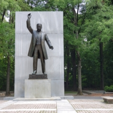 Memorial on Theodore Roosevelt Island - Washington DC