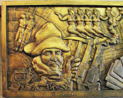 Cochise County Courthouse Art - Bisbee AZ - Living New Deal
