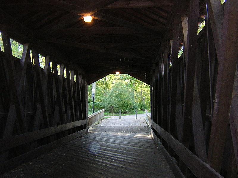 Ada Covered Bridge Interior