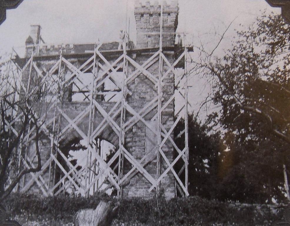 War Correspondents Memorial Arch Under Construction