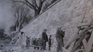 Antietam National Battlefield Cemetery Wall Repairs