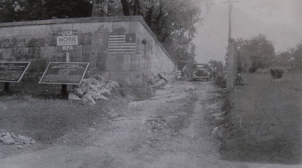 Antietam National Battlefield Cemetery Wall