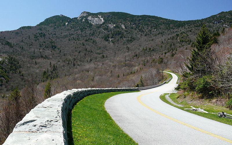 Blue Ridge Parkway Near Grandfather Mountain