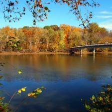 Bridge to Theodore Roosevelt Island