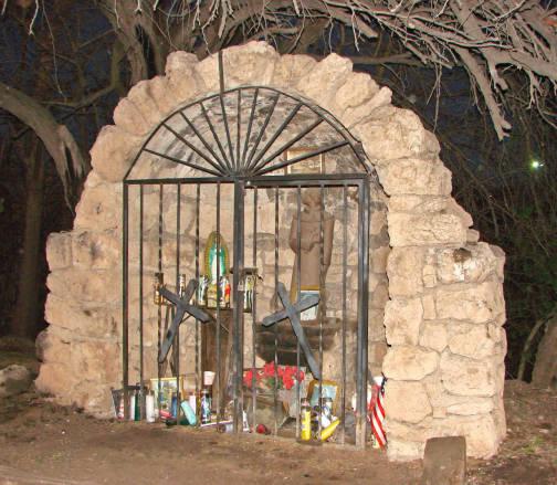 Fray Marcos de Niza Roadside Shrine